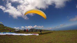 Sites de vol Tahiti parapente