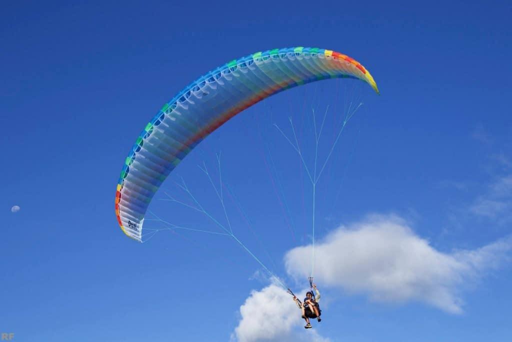 Tandem Paragliding Tahiti