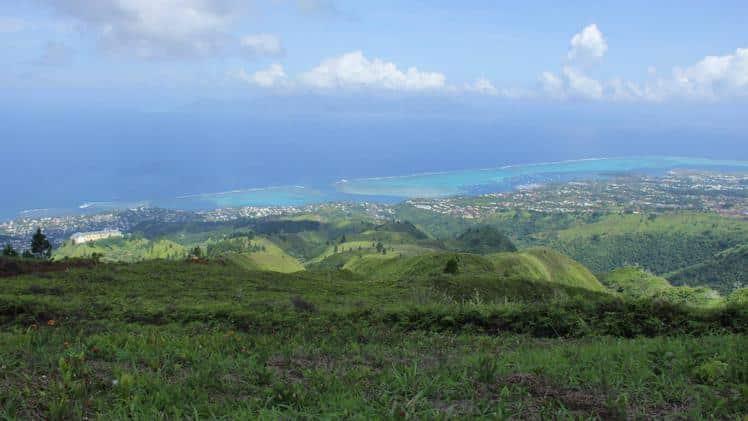 sites de vol tahiti parapente